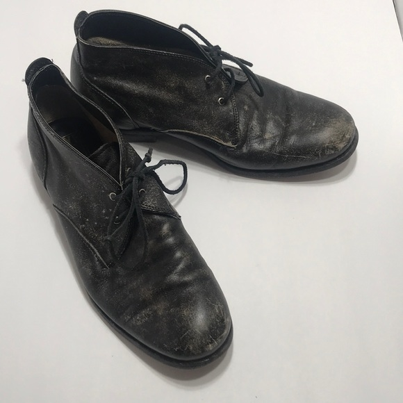Frye Other - Frye black distressed men's size 9 boots